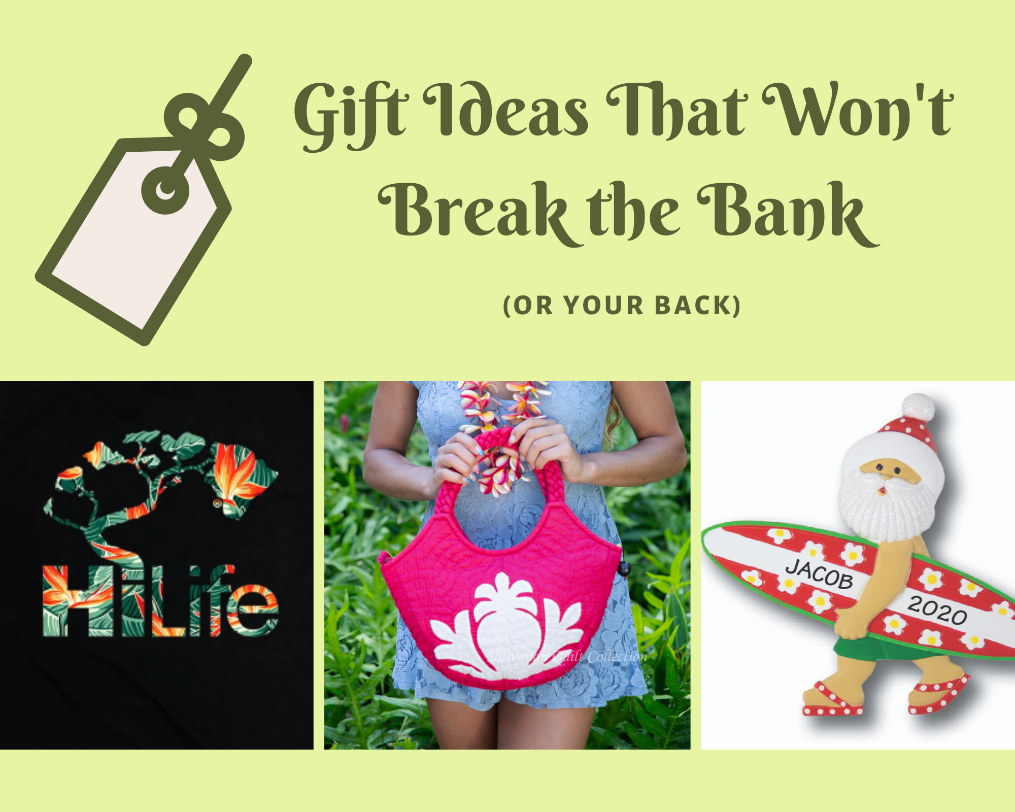Gift Ideas That Won't Break the Bank (or Your Back)