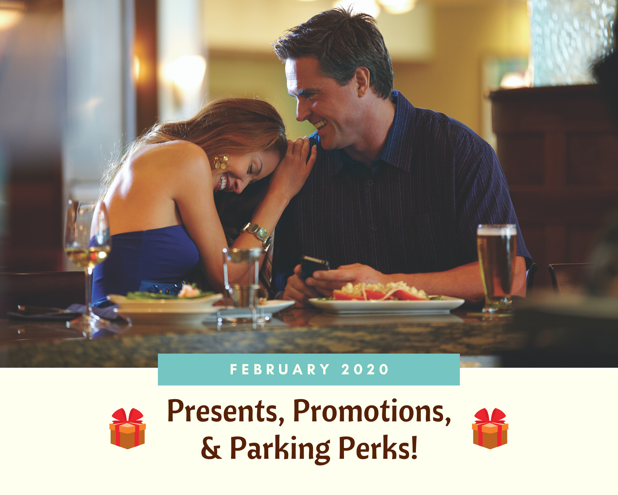 February 2020: Presents, Promotions, and Parking Perks!